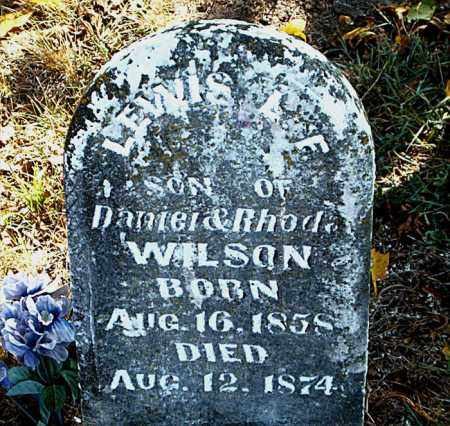WILSON, LEWIS L. F. - Boone County, Arkansas | LEWIS L. F. WILSON - Arkansas Gravestone Photos