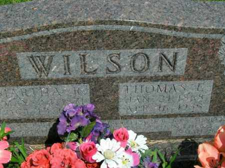 WILSON, MARTHA ROSETTA - Boone County, Arkansas | MARTHA ROSETTA WILSON - Arkansas Gravestone Photos