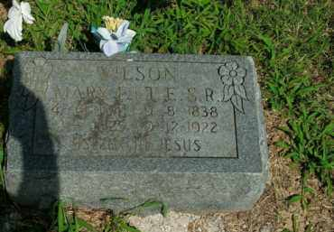 WILSON, MARY ELIZA - Boone County, Arkansas | MARY ELIZA WILSON - Arkansas Gravestone Photos