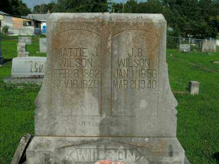 WATKINS WILSON, MATTIE JANE - Boone County, Arkansas | MATTIE JANE WATKINS WILSON - Arkansas Gravestone Photos