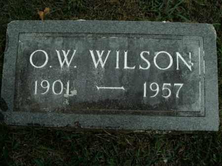 WILSON, O.W. - Boone County, Arkansas | O.W. WILSON - Arkansas Gravestone Photos