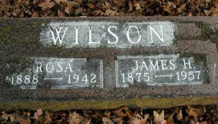 WILSON, JAMES H. - Boone County, Arkansas | JAMES H. WILSON - Arkansas Gravestone Photos