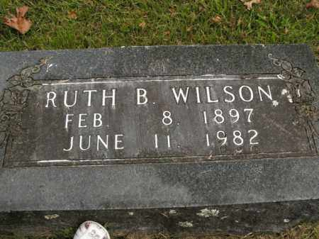 WILSON, RUTH B. - Boone County, Arkansas | RUTH B. WILSON - Arkansas Gravestone Photos
