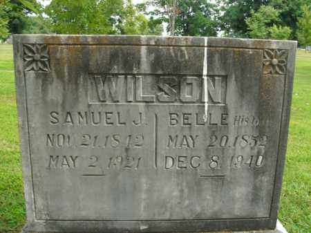 WILSON, BELLE - Boone County, Arkansas | BELLE WILSON - Arkansas Gravestone Photos