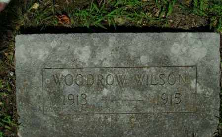 WILSON, WOODROW - Boone County, Arkansas | WOODROW WILSON - Arkansas Gravestone Photos