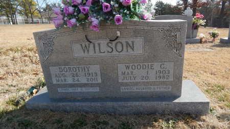 WILSON, WOODIE C. - Boone County, Arkansas | WOODIE C. WILSON - Arkansas Gravestone Photos
