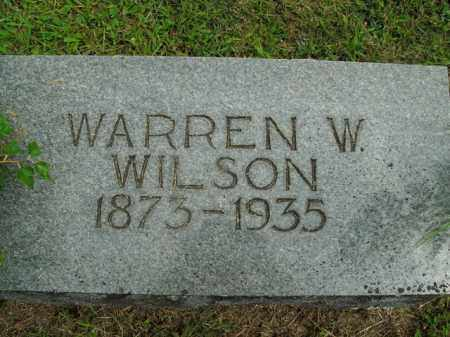 WILSON, WARREN W. - Boone County, Arkansas | WARREN W. WILSON - Arkansas Gravestone Photos