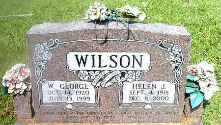 WILSON, W.  GEORGE - Boone County, Arkansas | W.  GEORGE WILSON - Arkansas Gravestone Photos