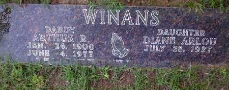 WINANS, ARTHUR R. - Boone County, Arkansas | ARTHUR R. WINANS - Arkansas Gravestone Photos