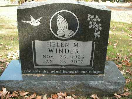 WINDER, HELEN M. - Boone County, Arkansas | HELEN M. WINDER - Arkansas Gravestone Photos