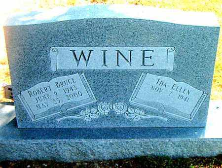 WINE, ROBERT BRUCE - Boone County, Arkansas | ROBERT BRUCE WINE - Arkansas Gravestone Photos