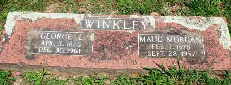 WINKLEY, GEORGE E - Boone County, Arkansas | GEORGE E WINKLEY - Arkansas Gravestone Photos