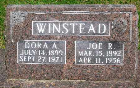 WINSTEAD, JOE R - Boone County, Arkansas | JOE R WINSTEAD - Arkansas Gravestone Photos