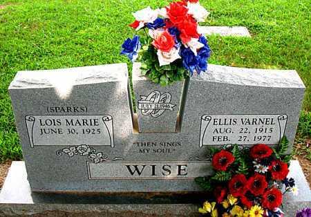 WISE, ELLIS VARNEL - Boone County, Arkansas | ELLIS VARNEL WISE - Arkansas Gravestone Photos