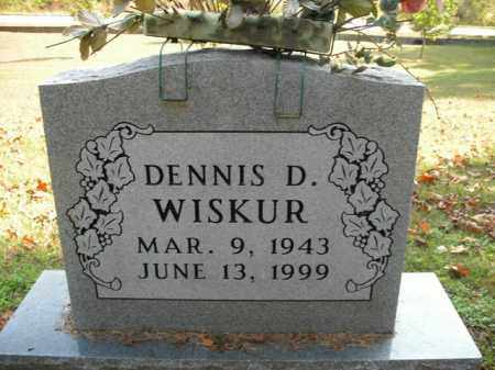 WISKUR, DENNIS D. - Boone County, Arkansas | DENNIS D. WISKUR - Arkansas Gravestone Photos