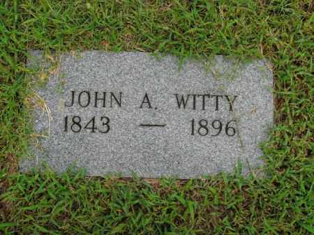 WITTY, JOHN A. - Boone County, Arkansas | JOHN A. WITTY - Arkansas Gravestone Photos