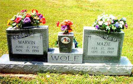 WOLF, MARVIN - Boone County, Arkansas | MARVIN WOLF - Arkansas Gravestone Photos