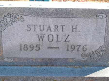 WOLZ, STUART H - Boone County, Arkansas | STUART H WOLZ - Arkansas Gravestone Photos