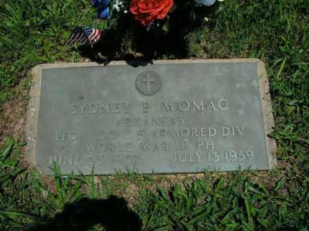 WOMAC  (VETERAN WWII), SYDNEY B. - Boone County, Arkansas | SYDNEY B. WOMAC  (VETERAN WWII) - Arkansas Gravestone Photos