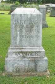 WOMACK, MARY JANE - Boone County, Arkansas | MARY JANE WOMACK - Arkansas Gravestone Photos