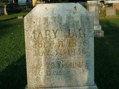 WOMACK, MARY JANE - Boone County, Arkansas | MARY JANE WOMACK - Arkansas Gravestone Photos