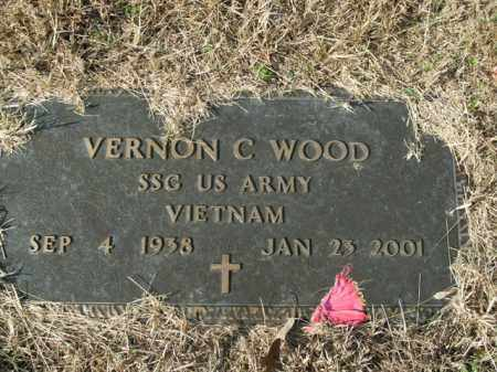 WOOD  (VETERAN VIET), VERNON C - Boone County, Arkansas | VERNON C WOOD  (VETERAN VIET) - Arkansas Gravestone Photos