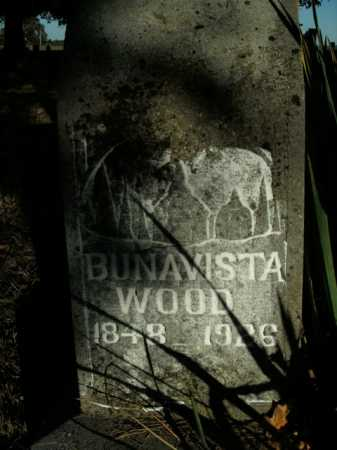 WOOD, BUNAVISTA - Boone County, Arkansas | BUNAVISTA WOOD - Arkansas Gravestone Photos