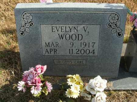 WOOD, EVELYN V. - Boone County, Arkansas | EVELYN V. WOOD - Arkansas Gravestone Photos