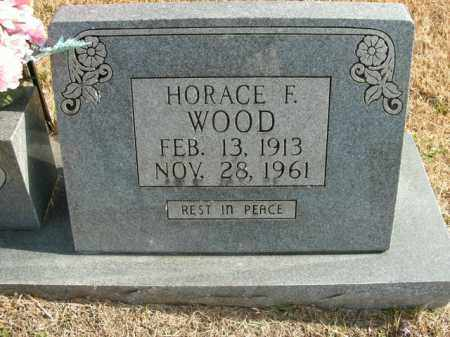 WOOD, HORACE F. - Boone County, Arkansas | HORACE F. WOOD - Arkansas Gravestone Photos