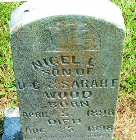 WOOD, NIGEL  L. - Boone County, Arkansas | NIGEL  L. WOOD - Arkansas Gravestone Photos