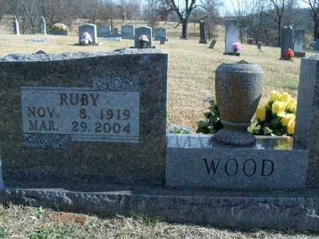 WOOD, RUBY FAYE - Boone County, Arkansas | RUBY FAYE WOOD - Arkansas Gravestone Photos