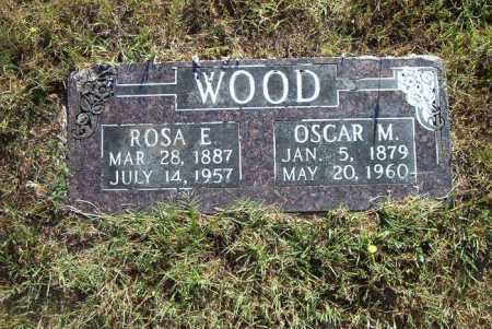 WOOD, OSCAR  M. - Boone County, Arkansas | OSCAR  M. WOOD - Arkansas Gravestone Photos