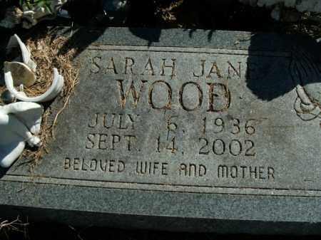 WOOD, SARAH JANE - Boone County, Arkansas | SARAH JANE WOOD - Arkansas Gravestone Photos