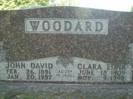 WOODARD, CLARA EDNA - Boone County, Arkansas | CLARA EDNA WOODARD - Arkansas Gravestone Photos