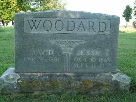 WOODARD, JESSIE L. - Boone County, Arkansas | JESSIE L. WOODARD - Arkansas Gravestone Photos