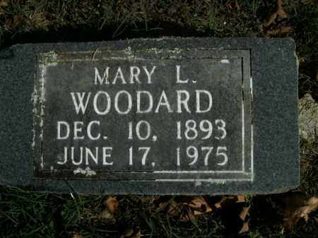 WOODARD, MARY L. - Boone County, Arkansas | MARY L. WOODARD - Arkansas Gravestone Photos