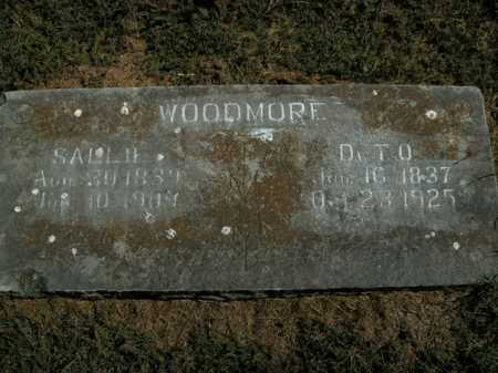WOODMORE, SALLIE - Boone County, Arkansas | SALLIE WOODMORE - Arkansas Gravestone Photos