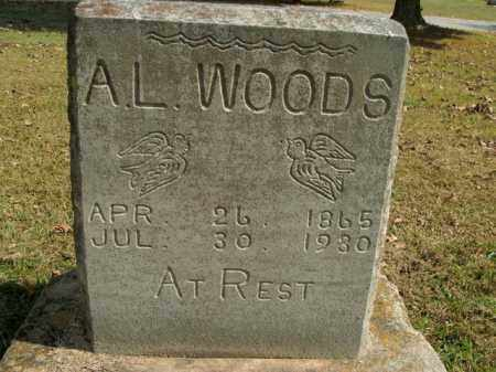 WOODS, ABE LINCOLN - Boone County, Arkansas | ABE LINCOLN WOODS - Arkansas Gravestone Photos