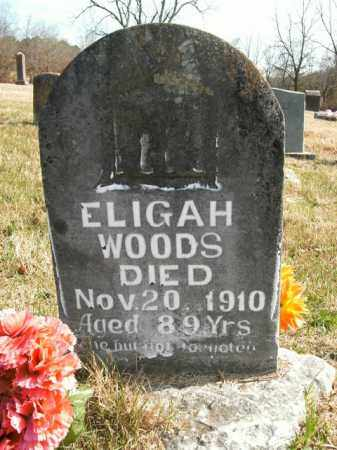 WOODS, ELIGAH - Boone County, Arkansas | ELIGAH WOODS - Arkansas Gravestone Photos
