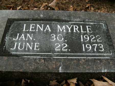 WOODS, LENA MYRLE - Boone County, Arkansas | LENA MYRLE WOODS - Arkansas Gravestone Photos