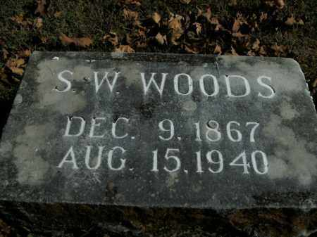 WOODS, S.W. - Boone County, Arkansas | S.W. WOODS - Arkansas Gravestone Photos