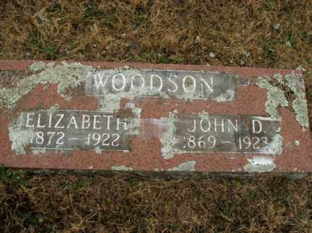 WOODSON, ELIZABETH - Boone County, Arkansas | ELIZABETH WOODSON - Arkansas Gravestone Photos
