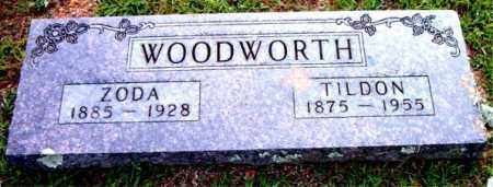 WOODWORTH, TILDON - Boone County, Arkansas | TILDON WOODWORTH - Arkansas Gravestone Photos