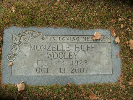 WOOLEY, MONZELLE HUFF - Boone County, Arkansas | MONZELLE HUFF WOOLEY - Arkansas Gravestone Photos