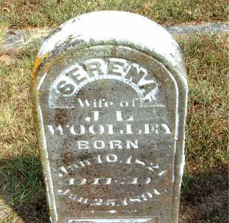WOOLLEY, SERENA - Boone County, Arkansas | SERENA WOOLLEY - Arkansas Gravestone Photos