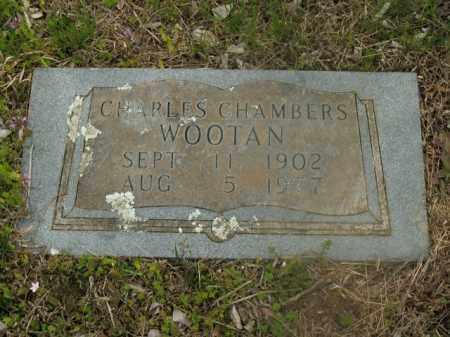 WOOTAN, CHARLES CHAMBERS - Boone County, Arkansas | CHARLES CHAMBERS WOOTAN - Arkansas Gravestone Photos
