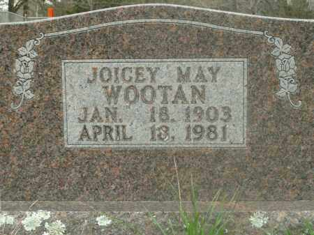 SNEED WOOTAN, JOICEY MAY - Boone County, Arkansas | JOICEY MAY SNEED WOOTAN - Arkansas Gravestone Photos