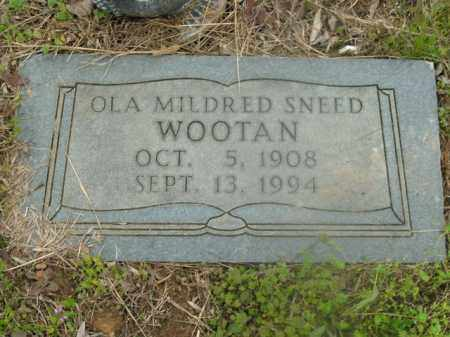 WOOTAN, OLA MILDRED - Boone County, Arkansas | OLA MILDRED WOOTAN - Arkansas Gravestone Photos