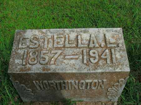 WORTHINGTON, ESTELLA L. - Boone County, Arkansas | ESTELLA L. WORTHINGTON - Arkansas Gravestone Photos