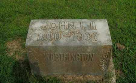 WORTHINGTON, JOHN I., III - Boone County, Arkansas | JOHN I., III WORTHINGTON - Arkansas Gravestone Photos